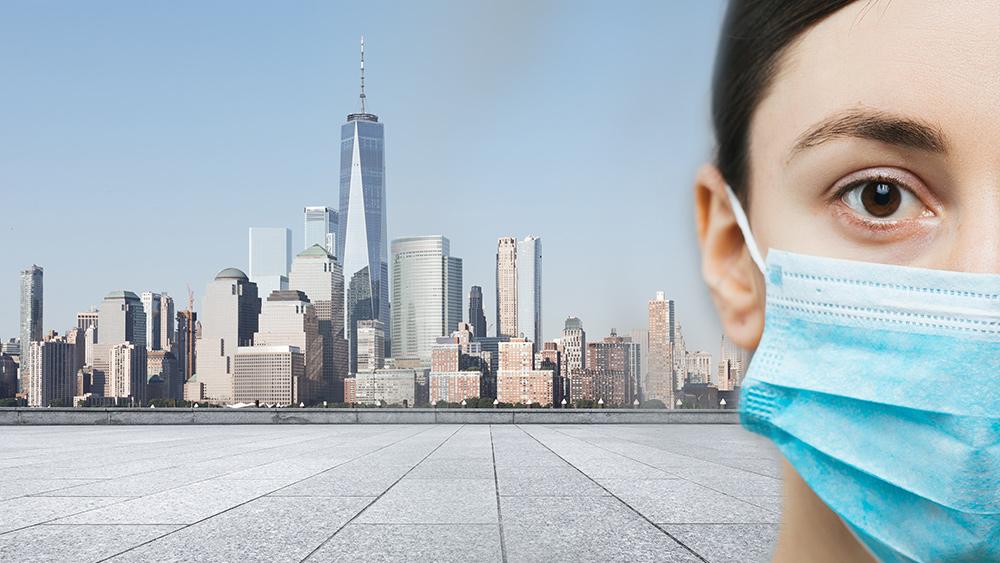 New York City wordt het nieuwe Wuhan: Big Apple, nu het nieuwe Amerikaanse epicentrum van de wereldwijde pandemie van het coronavirus