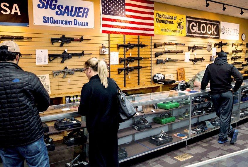 Waarom kopen mensen wapens? Dat is ongeveer het laatste wat we nu nodig hebben