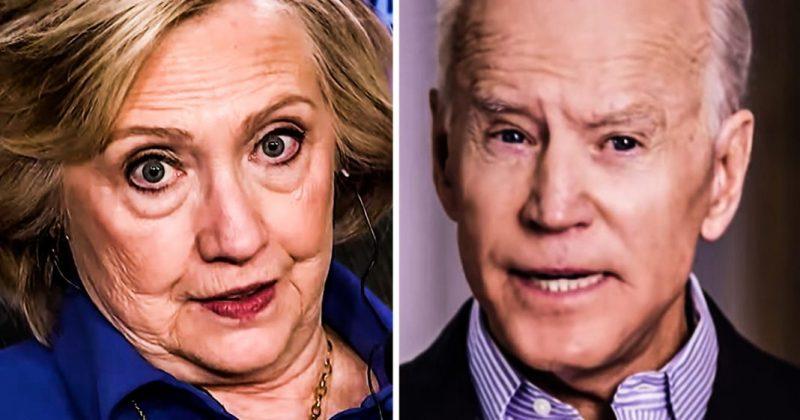 Terwijl Joe Biden worstelt, wacht Hillary Clinton op de oproep