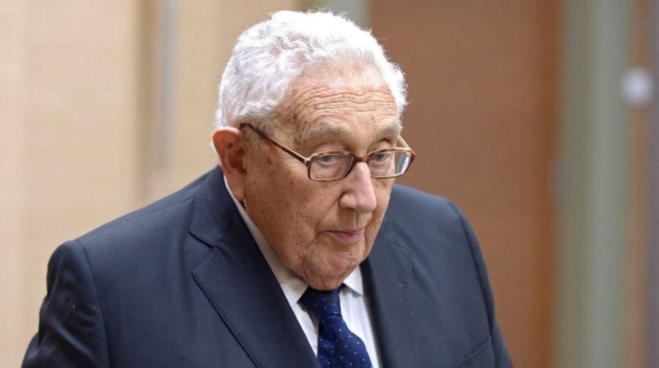 Kissinger's zelf geschreven Eulogy