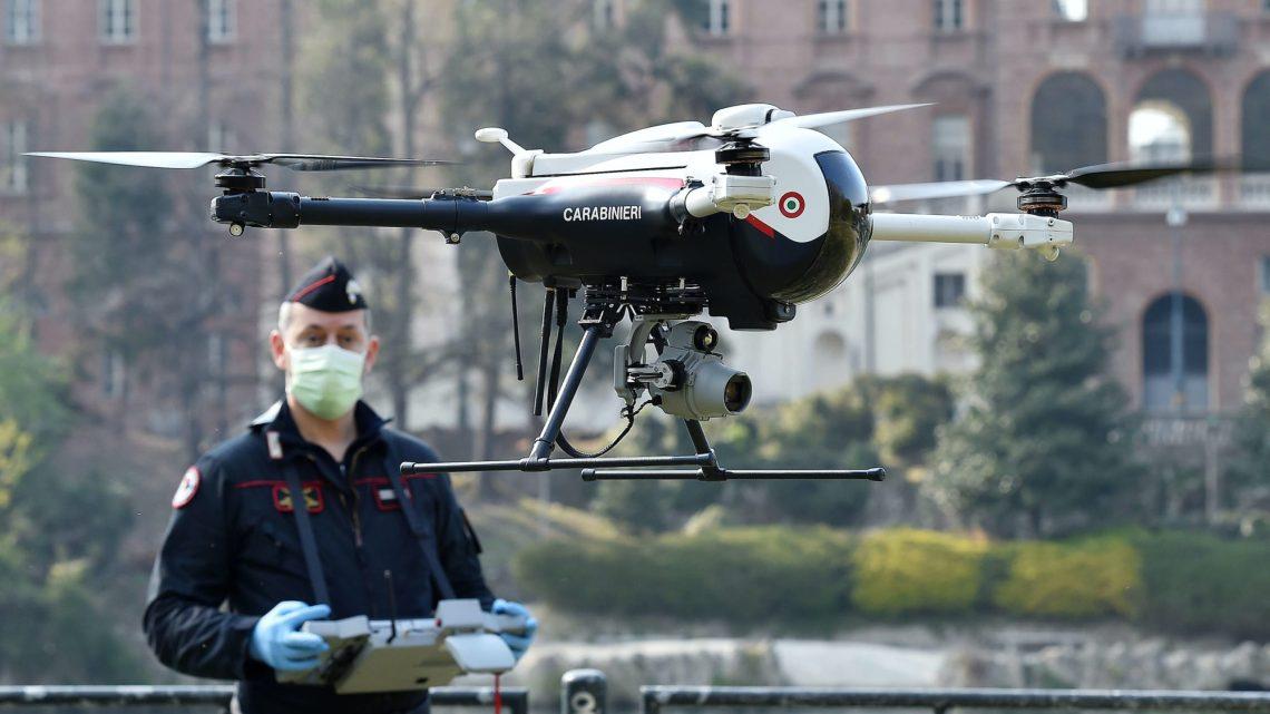 Coronavirus: drones die worden gebruikt om lockdown af te dwingen, vormen een reële bedreiging voor onze burgerlijke vrijheden