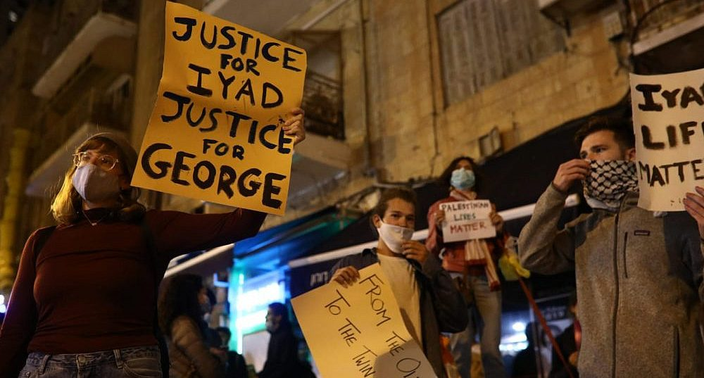 'Justice For Iyad, Justice For George'