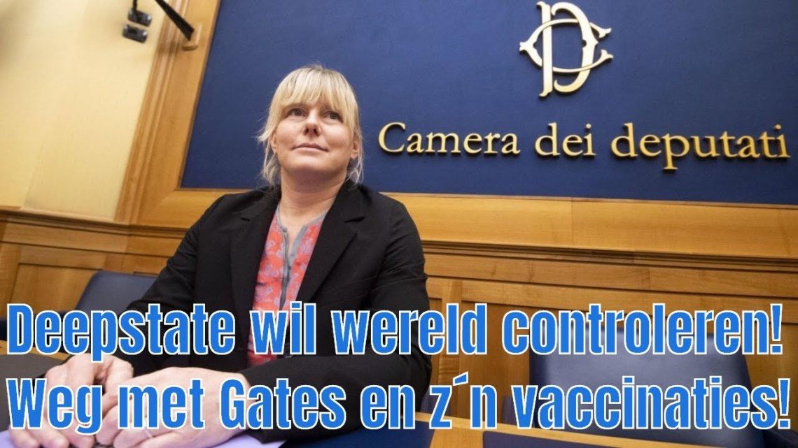 In een toespraak eist een Italiaanse parlementslid de arrestatie van Bill Gates