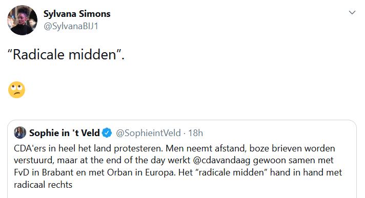 Sylvana Simons en D66 vallen Brabantse coalitie met Forum voor Democratie aan: 'Radicale midden?!'