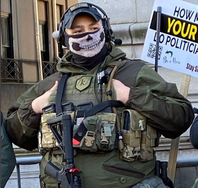 De Boogaloo-beweging is gevaarlijker dan Antifa maar Trump verbied deze niet