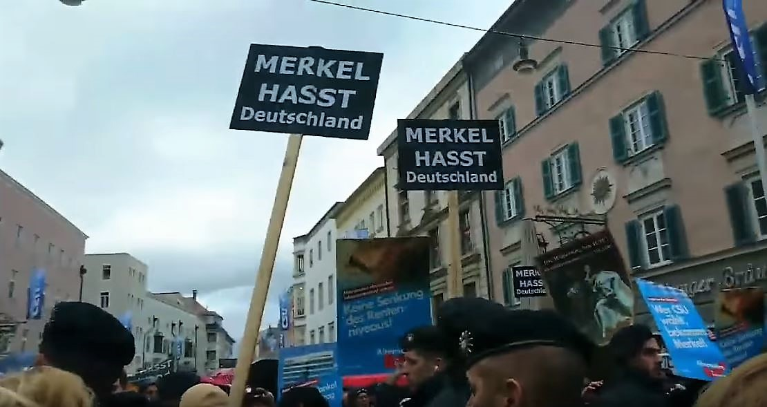 Angela Merkel financiert Antifa-supporters