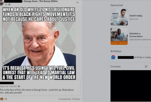 Haat, complottheorieën en adverteren op Facebook