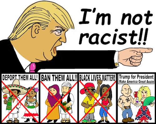 Donald Trump's lange geschiedenis van racisme blootgelegd in nieuwe advertentie