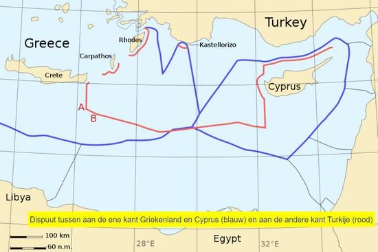 Een klein eiland in de Middellandse Zee kan tot een grote oorlog leiden