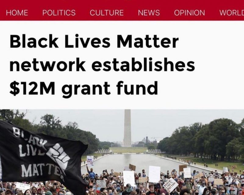 De Witte Elites die Black lives matter financieren