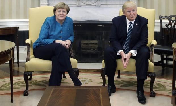 Waarom Duitsland vooral blij zou zijn om de rug van Trump te zien