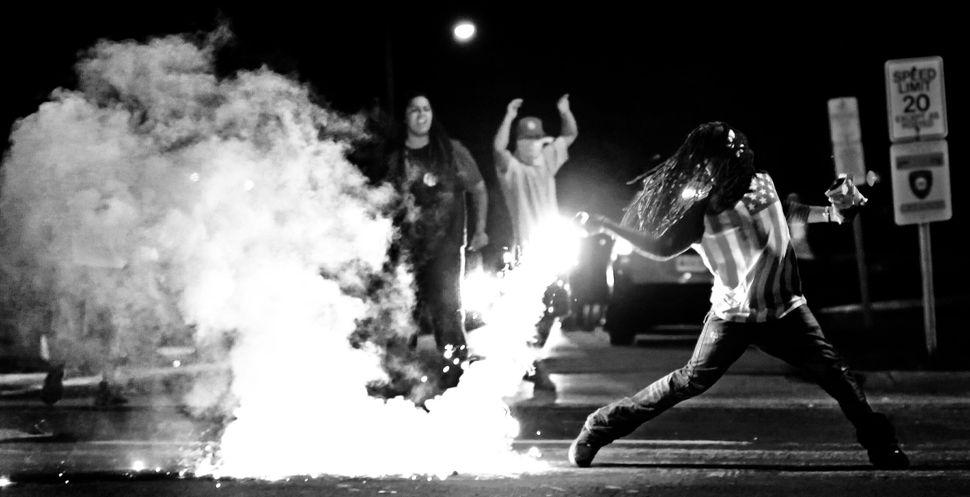 Ferguson bereidde Amerika voor op dit moment