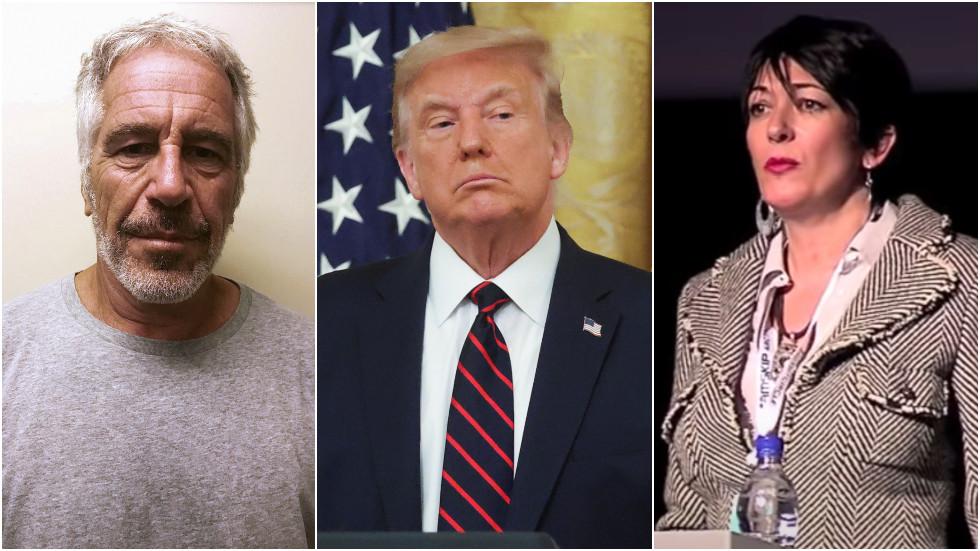 'Is hij vermoord? Was het zelfmoord? ' Trump wenst Ghislaine Maxwell meer geluk in de gevangenis dan Jeffrey Epstein