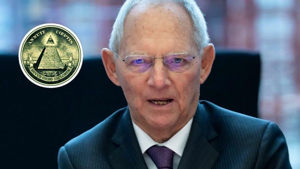 Dictatuurfan Schäuble geeft openlijk toe: Corona-crisis dient om natiestaten af te schaffen