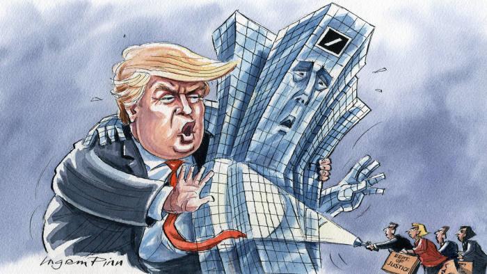 Deutsche Bank gaf Donald Trump financiële gegevens aan aanklagers in New York – rapport