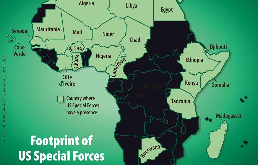Nieuw rapport onthult dat Amerikaanse Special Forces actief zijn in 22 Afrikaanse landen