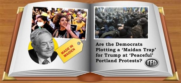Plannen de democraten een 'Maidan-val' voor Trump bij 'vreedzame' protesten in Portland?
