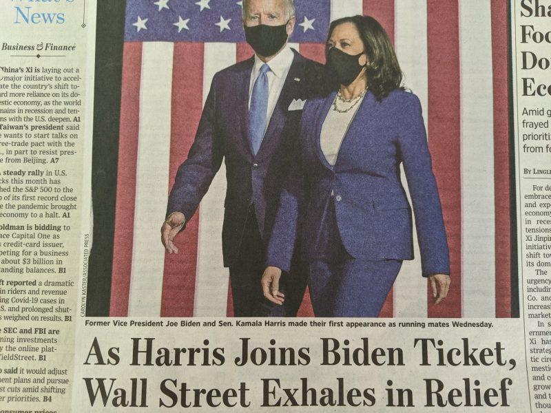 Kamala Harris is GEEN 'Linkse Radicaal' OF een 'Marxist'. Ik wou dat ze er een was