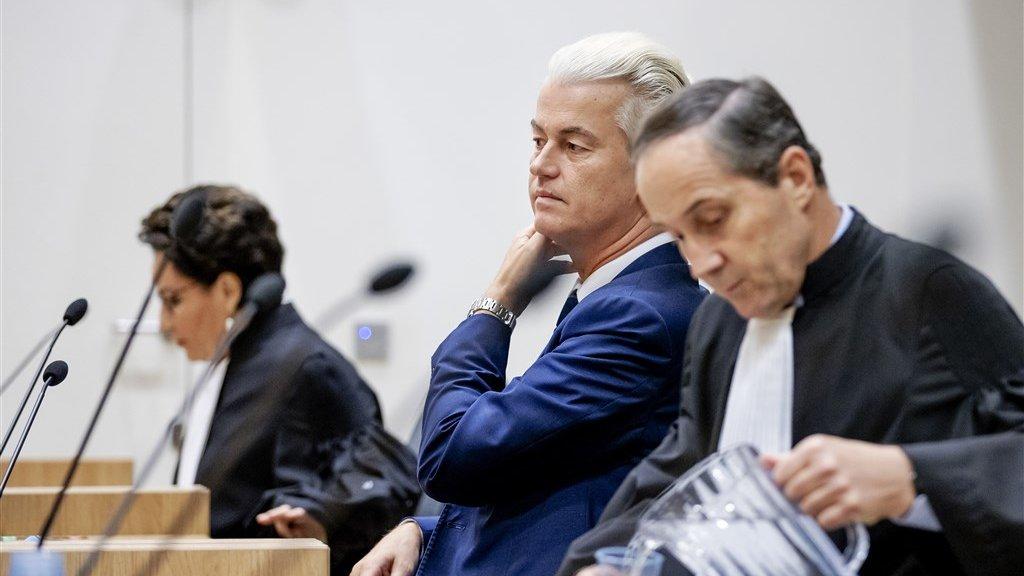 Hof: Wilders is schuldig aan groepsbelediging, maar krijgt geen straf