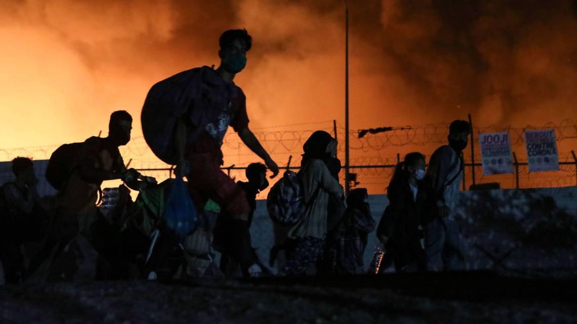 De asiellobby wil als beloning brandstichtingsmigranten uit Moria naar Duitsland halen