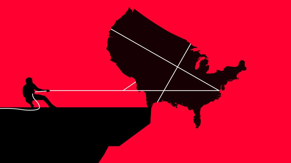 De verontrustende boodschap van de verkiezingen: zelfs als Trump verliest, is de Amerikaanse politieke burgeroorlog nog niet voorbij