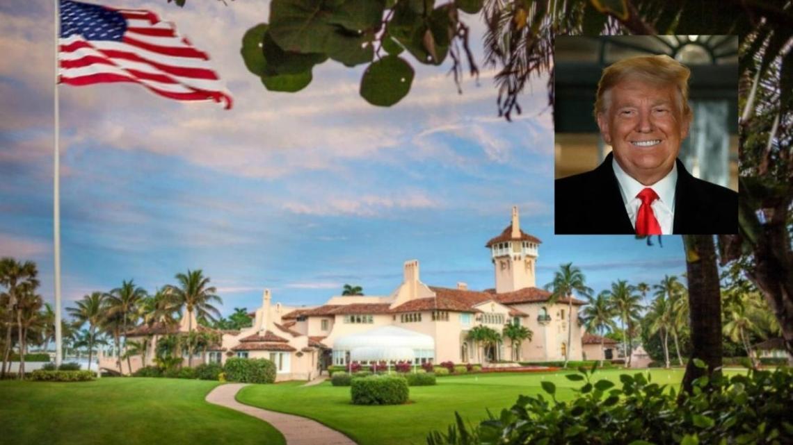 Buren van Mar-a-Lago vertellen Trump botweg: verdwijn