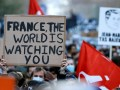 """LIVE: Protest in Parijs tegen geplande """"wereldwijde veiligheidswet"""""""