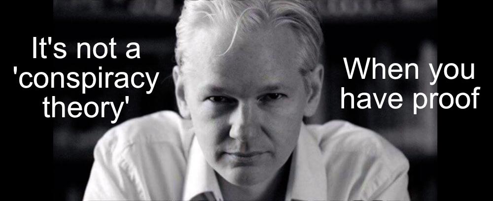 Alles wat het Westen beweert te waarderen, wordt ongeldig verklaard door de behandeling van Assange