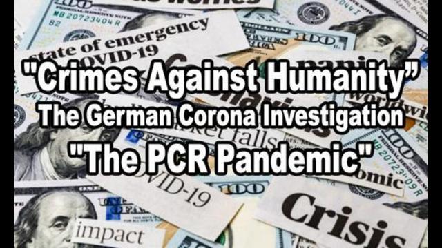 "Video en VOLLEDIG transcript: ""CRIMES AGAINST HUMANITY"": The German CORONA Investigation – ""The PCR PANDEMIC"""