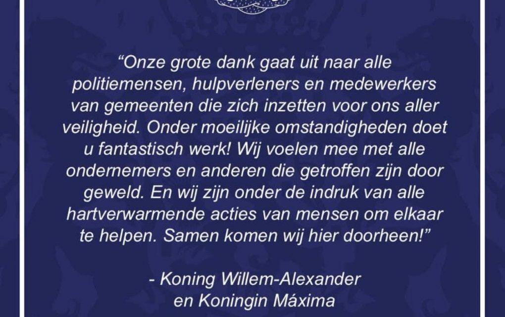 Misselijk makend fake-verhaal van 'koning' Willem-Alexander en Máxima