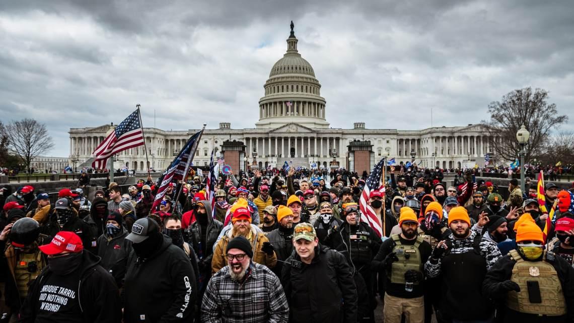 Vijf doden door aanval op Capitol in de VS