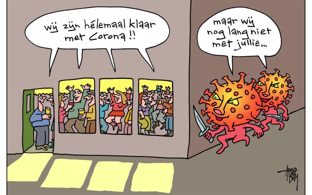 Coronamoeheid? Kabinet Rutte na een jaar corona nog steeds niets geleerd