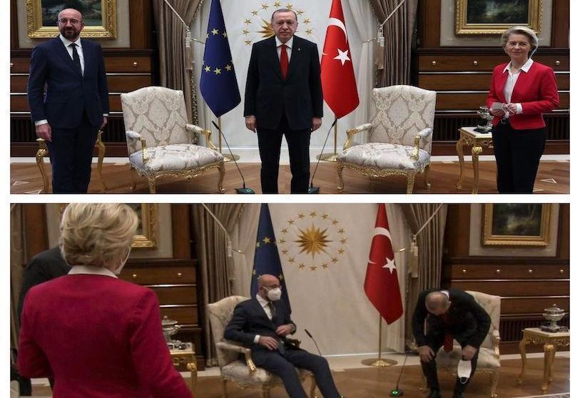 """De waarheid over Ankara's """"Sofagate"""""""