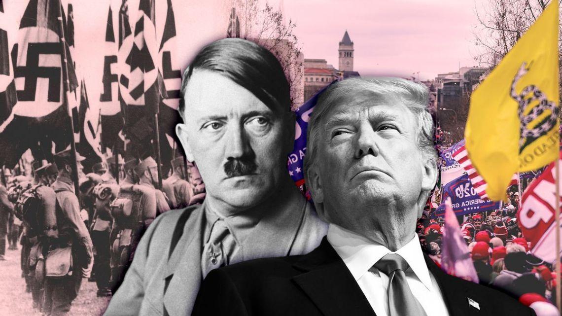 Trump's en Hitler's Big Lie: Is dit hoe Amerika's afglijden naar totalitarisme begint?