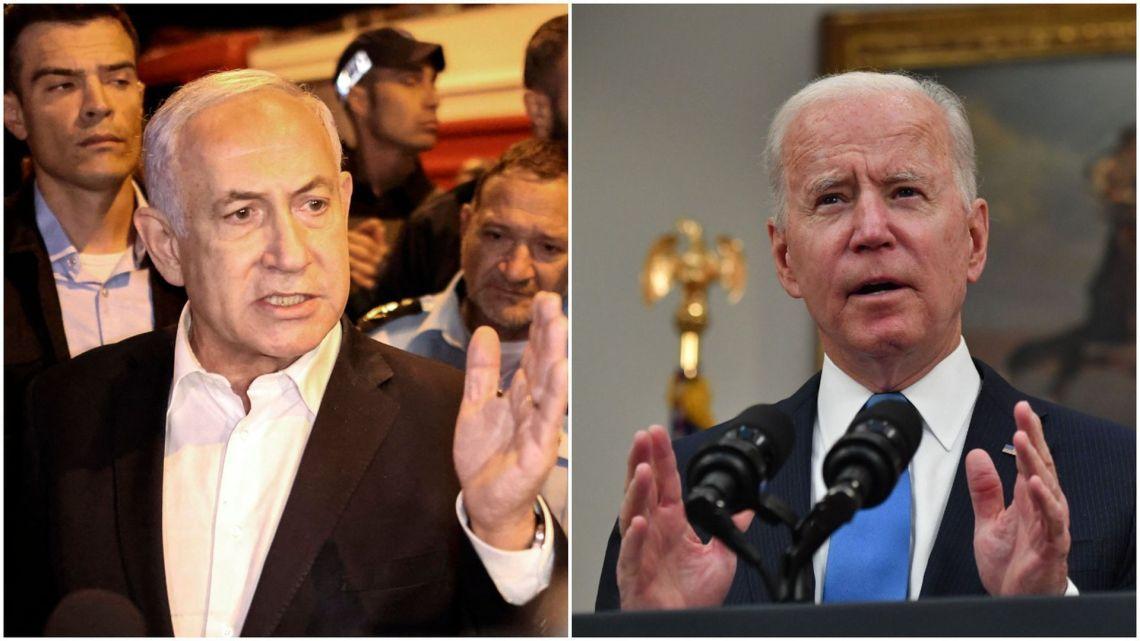 Biden in gesprek met Netanyahu uit zijn bezorgdheid over burgerslachtoffers in Gaza