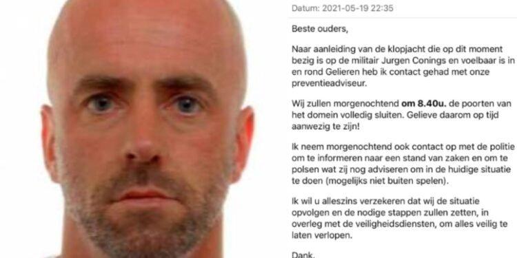 Belgische militair Jürgen Conings, de 'wapenbroeder' die goed ingeburgerd is in extreemrechtse kringen
