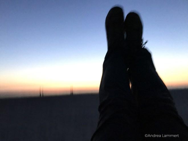 Sankt Peter Ording, Strandleben, Sonnenuntergang, endlose Weite