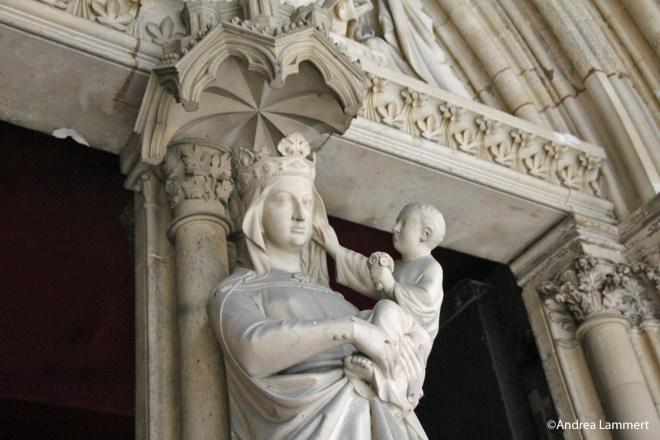 Paris, Sainte Chapelle, Kraftort