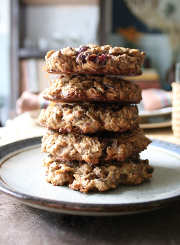 Superfood Gluten-Free Oatmeal Cookies