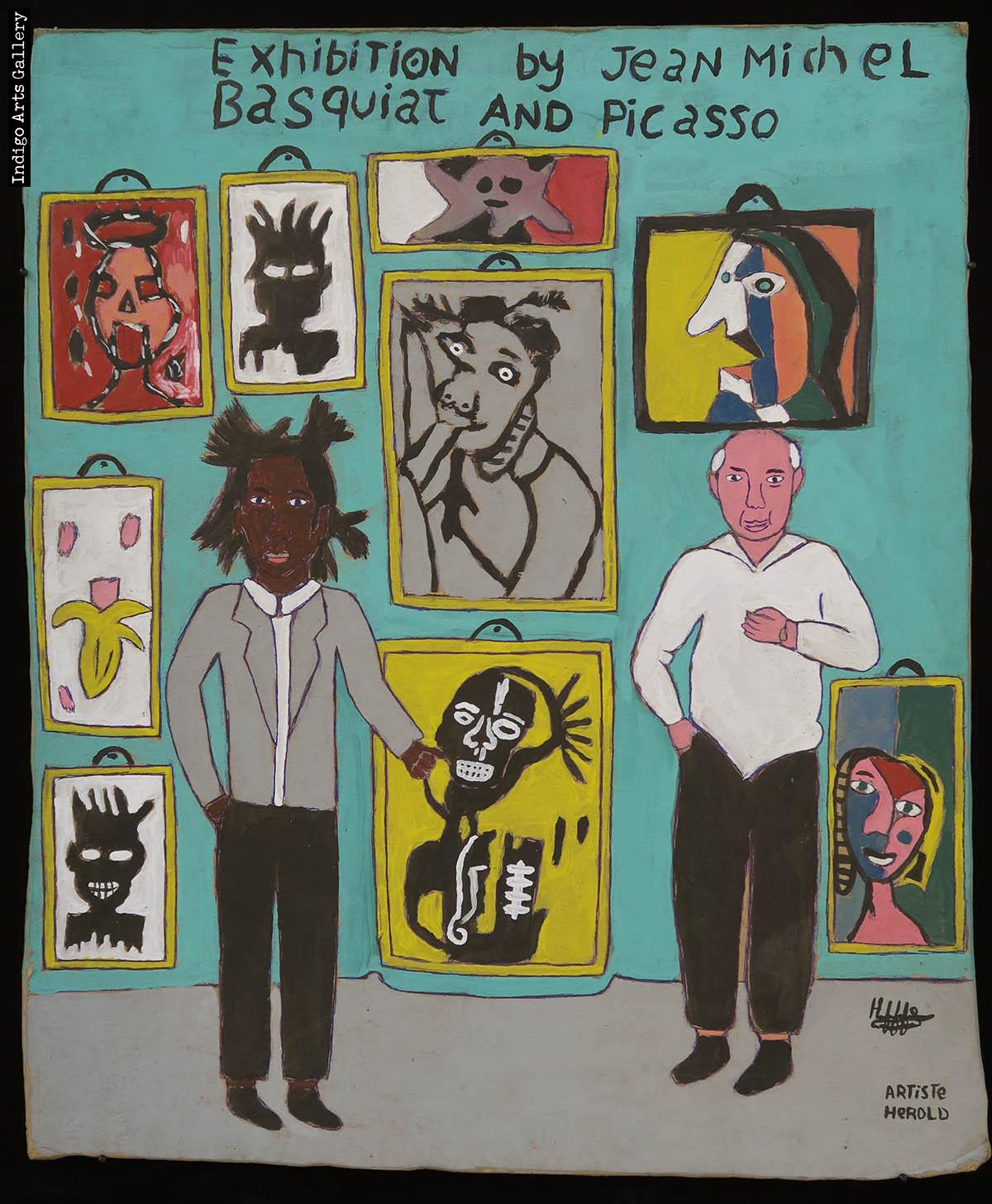 Exhibition Jean Michel Basquiat And Picasso Indigo Arts