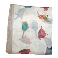 bird scarf  INDIGO BAY TRADING COMPANY