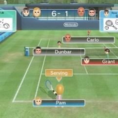 Wii Sports Club Tennis