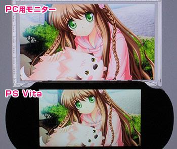 Filtre désactivé sur PS Vita LCD