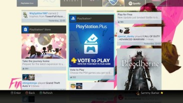 Notification PS4 Playstation plus PS+ vote to play