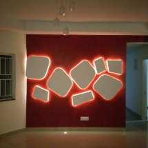 wall design, led backlit, panel art