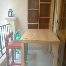 folding bar cabinet