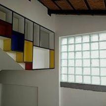 mondrian, bookshelf design