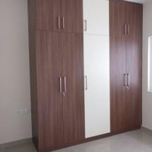 modular wardrobe design, high gloss