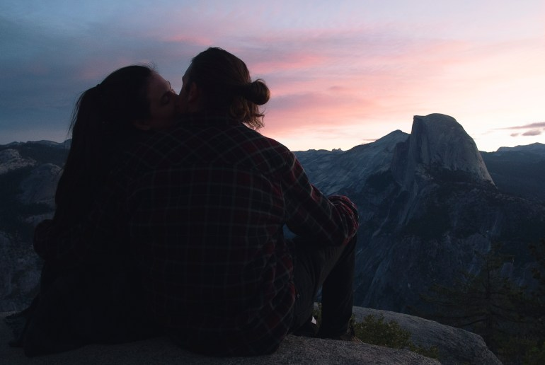 Babes and Half Dome