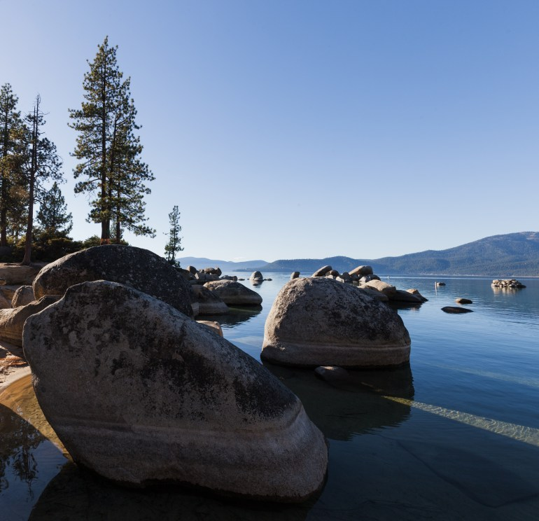 Sand Harbor Lake Tahoe Rocks